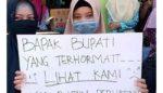 Karyawan RSUD Besuki Demo Tuntut Direktur Mundur