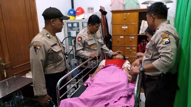 Pelajar SMP Tawuran di Kota Malang, Dua Klenger Dikepruk Paving