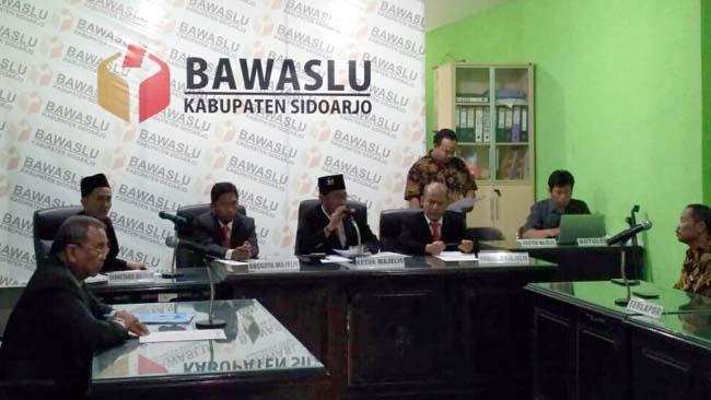 Tak Terbukti Melanggar, KPU Sidoarjo Menangkan Gugatan 2 Bacaleg TMS