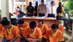 Beberkan Hasil Ops Semeru, Polres Lamongan Ungkap 25 Kasus dan Amankan 9 Tersangka