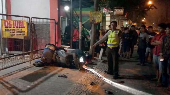 Dua Pengendara N Max Asal Surabaya Tewas di Jalur Prambon
