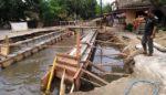 Pembangunan Proyek Jembatan Desa Gebangan Disoal