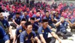 Tuntut Jadi PNS, Ratusan Guru Honorer Luruk Kantor Bupati Kediri
