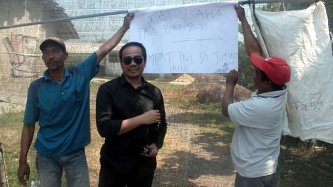 Disinyalir Tak Kantongi Izin, Pabrik Penggilingan Padi Ditutup Warga