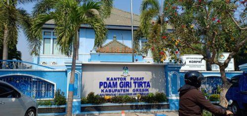 Kantor Pusat PDAM Giri Tirta Kabupaten Gresik Jalan Permata 7 Buder Asri Kebomas Gresik