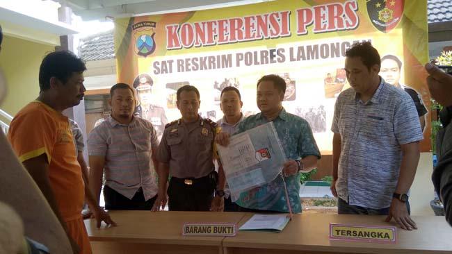 Janjikan Masuk PNS Tanpa Tes , Kasun Rejosari Digelandang Polisi