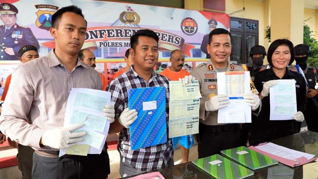 Pungut Biaya PRONAPTSL Rp 600 Ribu, Oknum Kepala Desa Ditahan Polisi