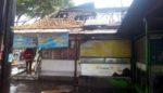 Warung Martabak Terbakar di Kota Malang