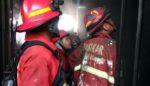 Konsleting Listrik, Rumah di Pandanwangi Royal Park Terbakar