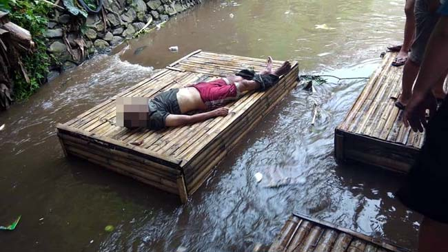 Hanyut di Sungai Kasin, Seorang Kakek Tewas