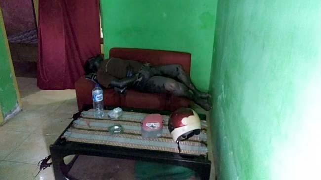 Warga Tanjungrejo Sukun Digemparkan Bujang Tewas Membusuk
