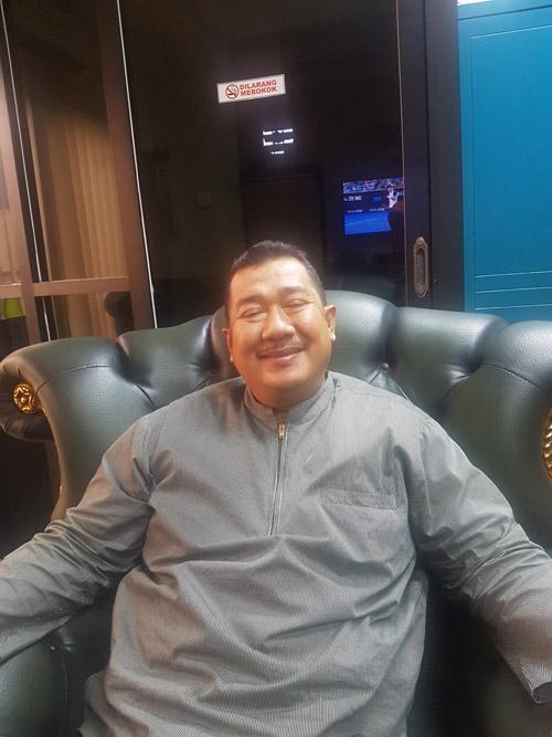 Masduki Toha Wakil Ketua DPRD Kota Surabaya saat ditemui di ruangannya untuk menyampaikan kinerja sari Anggota Dewan periode 2014-2019, Senin (21/1/2019).