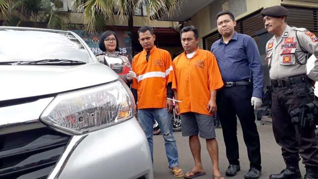 Dua Penadah Mobil Digerebek, Buntut Dari Aksi Penggelapan