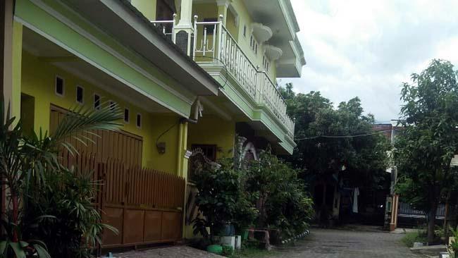 Rumah Edy Trisulo Yudo (adik kandung Wali Kota Pasuruan, Setiyono) ploting proyek dilakukan