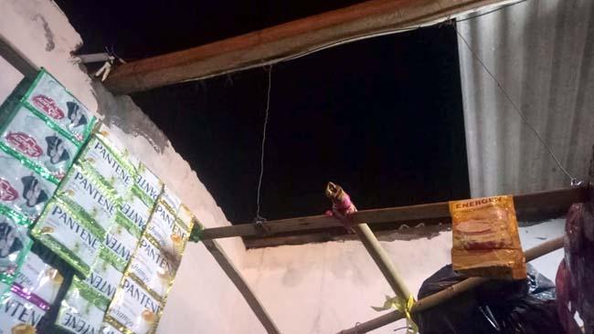 Puluhan Rumah Warga 2 Desa di Tulangan Rusak Diterjang Angin Kencang