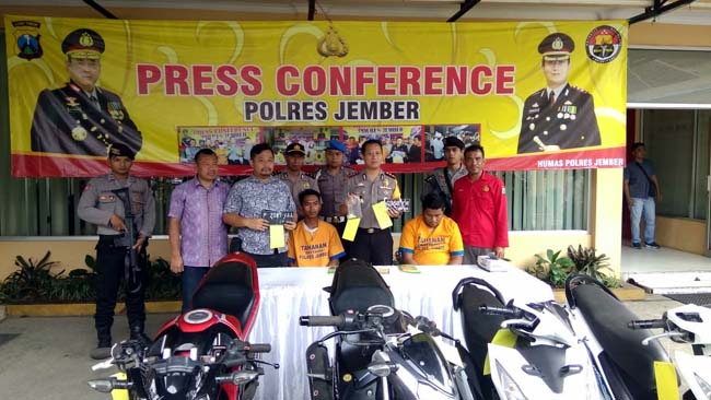 2 Hari Motor Hilang, Gojek Berterimakasih pada Polisi Jember