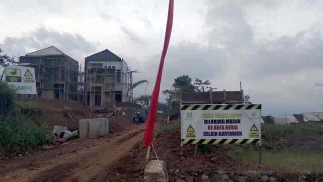 D'Cordoba Perumahan di Desa Oro - oro Ombo Diduga Tidak Ber IMB