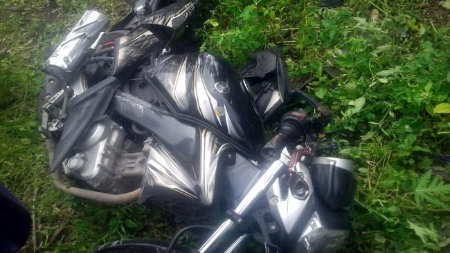 Kereta Api Terjang Motor, 2 Biker Asal Sampang Tewas