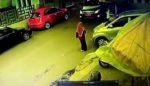 Mobil Plat Merah UIN Tabrak Mahasiswi