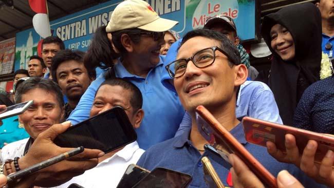 Sandi Sambangi Ahmad Dhani, Hukum Tak Digunakan untuk Memukul Lawan, tapi Memihak Kepada Kawan