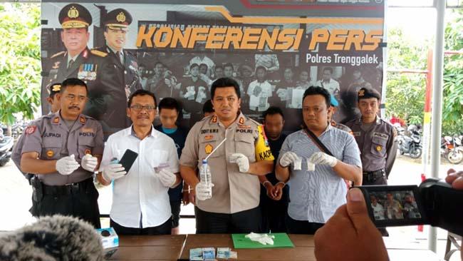 Tumpas Narkoba, Polres Trenggalek Ungkap 21 Kasus