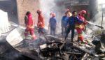 Masak Ketela, Ditinggal Beli Rokok, Rumah Ludes Terbakar