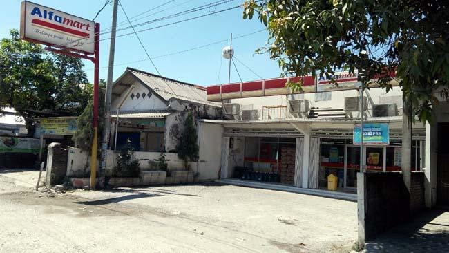 Garong Lubangi Dinding Minimarket di Sukodono, Kepergok Karyawan, Kabur