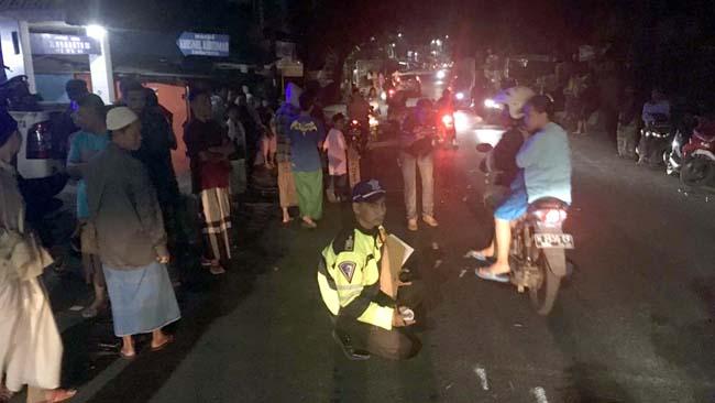 Nyebrang Jalan, Ibu-Ibu Jl Muharto Tewas Ditabrak Motor