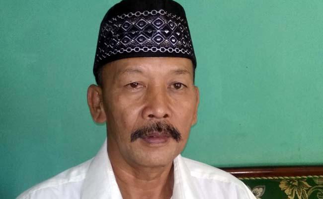 PANITIA : Juma'in Ketua Panitia Pilkades Druju. (H Mansyur Usman/Memontum.Com)