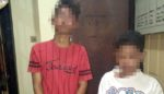 Jambret HP, Dua Pemuda Taman Dihajar Warga di KNV Sidoarjo