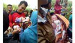 Tidur Nyenyak, Bayi Lelaki Dibuang Ibunya di Persawahan Buring