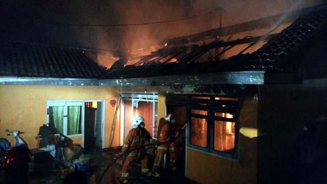 Kebakaran Diduga Karena Lilin, Tewaskan Empat Anak