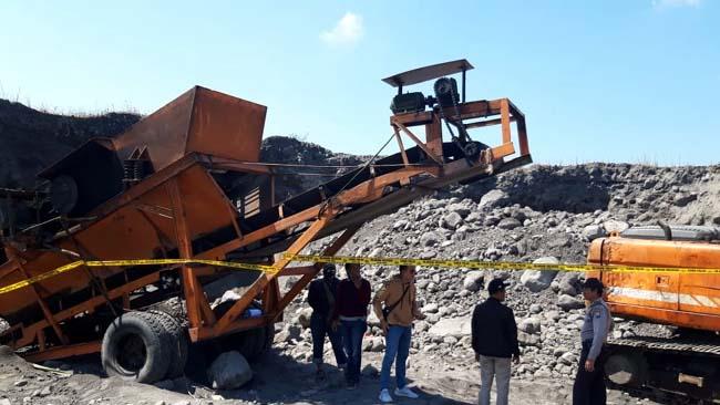 Pekerja Tambang Pasir PT Lumajang Jaya Sejahtera, Tewas Kecelakaan Kerja