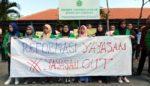 Tak Ditemui, Mahasiswa Unsuri Demo Segel Yayasan