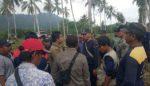 Tanpa Bukti, Warga Dusun Sumberdadi Pasang Patok Kepemilikan Lahan di Tanah Perkebunan Sumberjambe