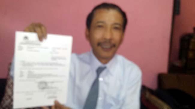 Agus Subiyantoro SH, Penasehat Hukum Tertuduh. (H Mansyur Usman/Memontum.Com)