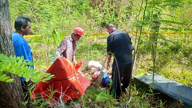 Mayat Tanpa Identitas Ditemukan di Kebun