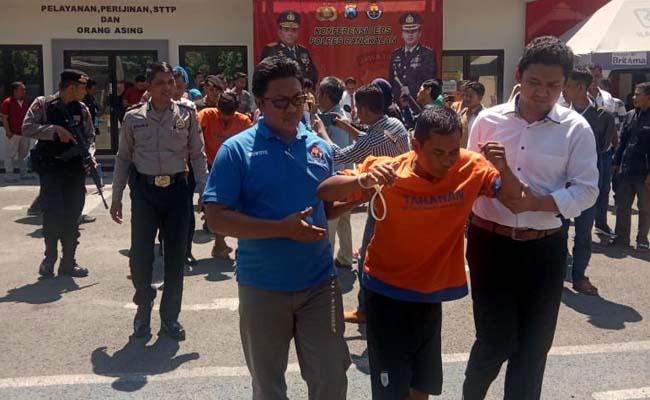 Nyuri 8 Kali, 2 Pengangguran Ditembak, Seorang Diburu Polisi Bangkalan