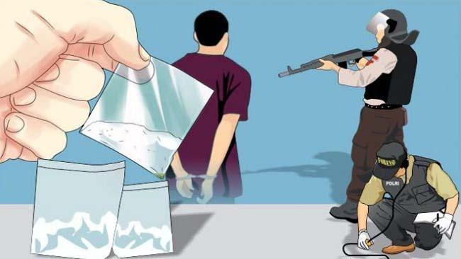 Oknum Jaksa Lumajang Pesta Narkoba