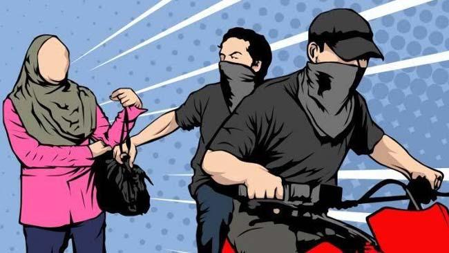 Pulang Pengajian, Bu Hajah Diserang Jambret