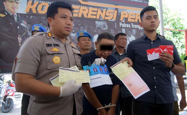 Polisi amankan pelaku penipuan beserta barang buktinya