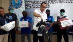 Simpan Ganja 4 Kg, Warga Klojen Diuber-uber BNN Kota Malang