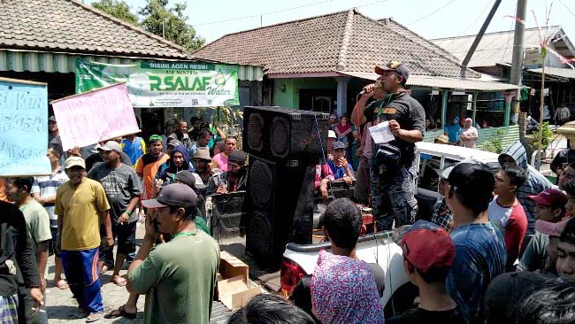 Warga Kedungrejo Jabon, Tuntut Ponpes Putri Ditutup, Buntut Dugaan Pencabulan Guru Ngaji ke Santri