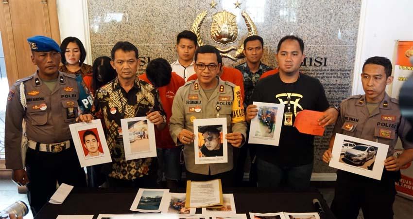 Polrestabes Surabaya Tangkap Pembunuh Bangkit UMC Batu - Surabaya