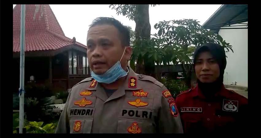 Video Statement Kapolres Malang AKBP Hendri Umar SIK MH terkait pembunuhan. (Memontum.com)